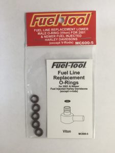 Harley Fuel Line Replacement O-Rings 5pack